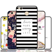 2017 Case Xiaomi Redmi 4x Case Cover 18 Patterns Silicone Soft Cover For Xiaomi 4x Case Original 100% BiNFUL