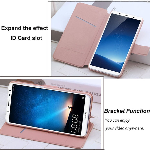 (3 Styles) Doogee X5 MAX Case Flip PU Leather Luxury Fashion Stand Shell Cover Case For Doogee X5 MAX Pro Fundas With Card Slot