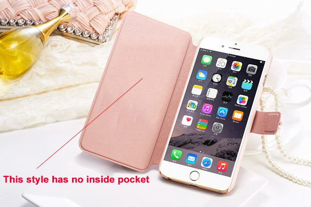 "(3 Styles) Hot For Alcatel One Touch Pop 4 Plus Case Wallet Style Pu Leather Case For Alcatel Pop4 Plus 5.5"" With Card Holder"