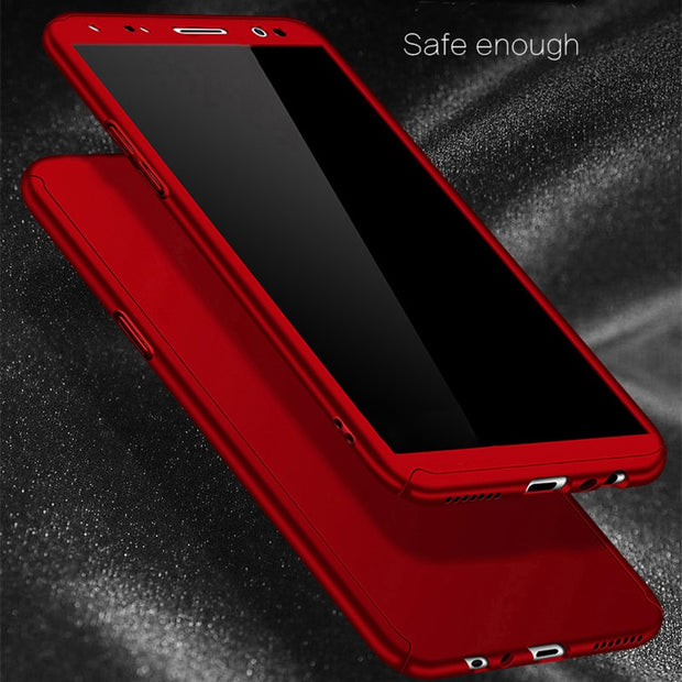 check out 92ed4 66d27 360 Full Cover Case For Huawei Nova 2i Case Phone Back Cover PC Funda With  Tempered Glass 5.9'' Nova 2i