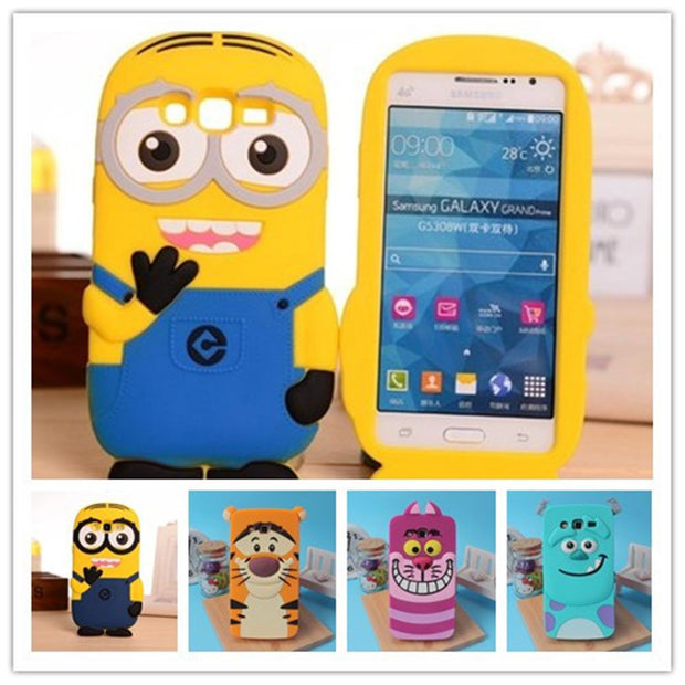 cover samsung galaxy grand prime in silicone 3d