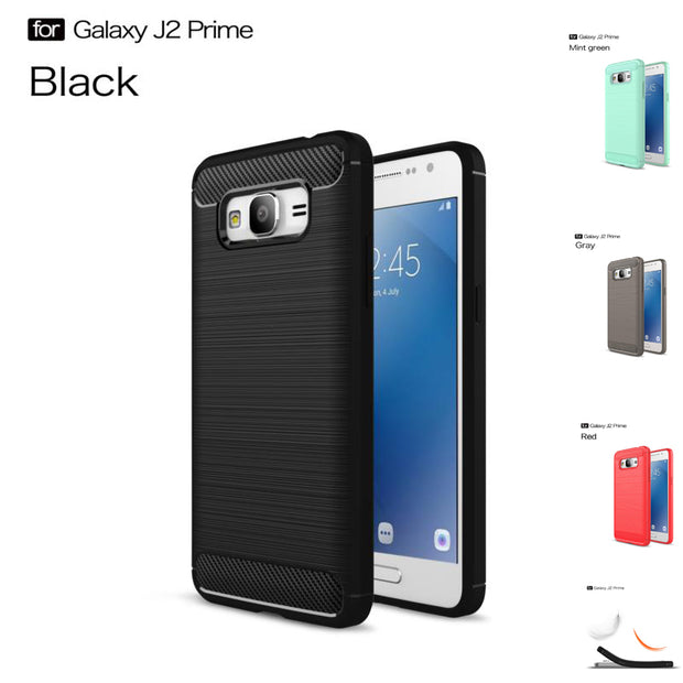 "5.5"" For Samsung J2 Prime SM-G532 Case Shockproof Armor Tough Silicone Rubber Dissipate Heat Back Covers Case For Samsung J2 Pro"
