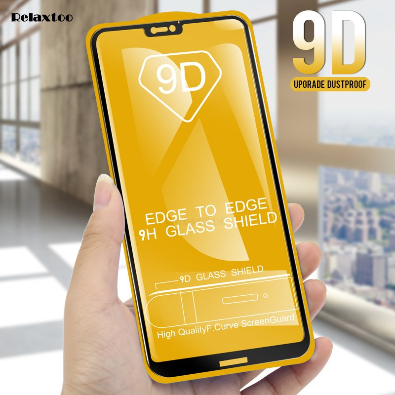 9D Tempered Glass For Huawei Mate 20 Lite Screen Protector Case For Huawei  P20 Mate 10 Pro Lite On For P20 Lite P Smart Glass 9h
