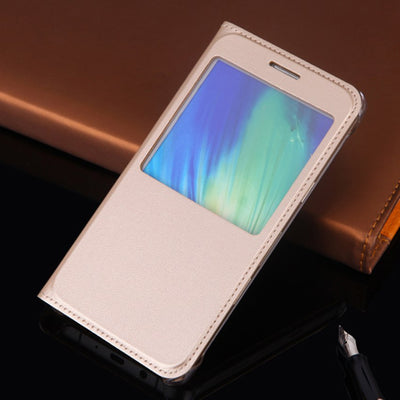 A5 2016 A510F Case Fashion Wallet Bags Slim Window View Cover Touch Answer Quick Flip Case For Samsung Galaxy A5 2016 A5100 Case