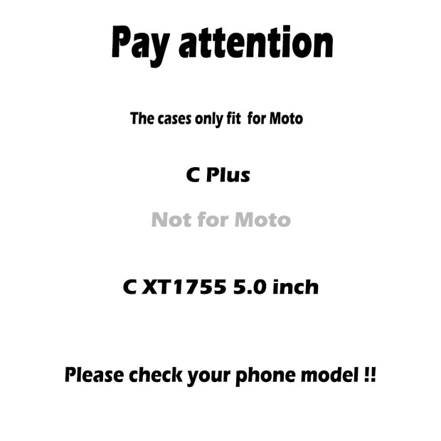 AKABEILA Anti-knock Armor Phone Case For Motorola Moto C Plus XT1723 XT1724 5.0 Inch Luxury PC + TPU Protective Cover With Stand