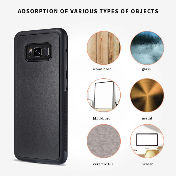 Anti Gravity Phone Cases For Samsung Galaxy S8 S8 Plus Fundas Magical Nano Suction Cover Anti-gravity Adsorbed Adsorption Case