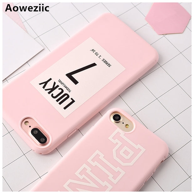 Aoweziic Candy Color Luxury Soft TPU Rubber Cover For IPhone X 8 6 6S Plus 7 Plus Case Silicone For IPhone 6S XR XS MAX Case