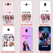 BINFUL Transparent Hard Case For Samsung J3 J4 J5 J6 J7 J8 2015 2016 2017 EU 2018 Prime Max Blackpink Black