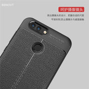 BSNOVT Huawei Nova 2 Case Nova 2 Cover Shockproof Luxury Leather TPU Back Case For Huawei Nova 2 Fundas Nova 2 Phone Shell 5.0""