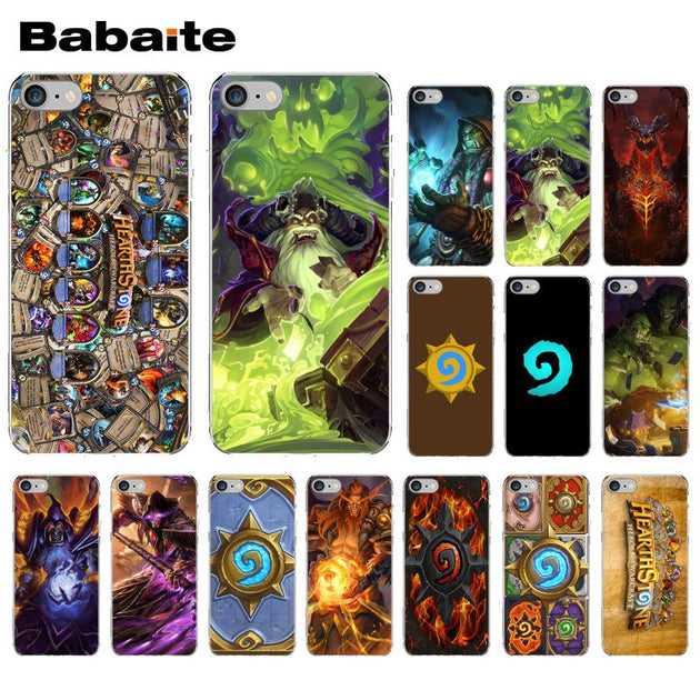 Babaite Funny Hearthstone Heroes Game Cute Phone Accessories Case For Apple  IPhone 8 7 6 6S Plus X XS MAX 5 5S SE XR Cover