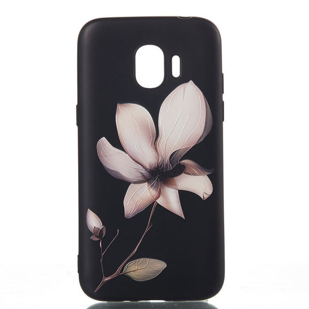 Back Cover For Samsung J2 Pro 2018 Case 3D Protective Phone Housing