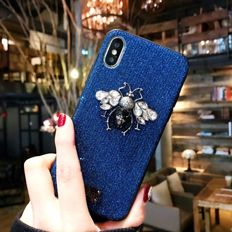 Bling Glitter Diamond Phone Cases For IPhone 6 6s 7 8 Plus X XR XS Max efb35d517