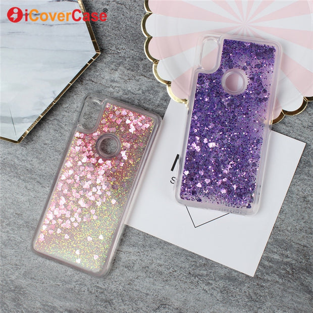 Bling Quicksand Coque For Xiaomi Redmi S2 Case Mobile Phone Accessories Glitter Liquid Shell Cover Capa Hoesjes Carcasas Fundas
