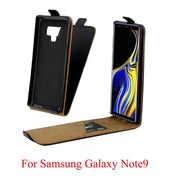 Business Leather Case For Coque Samsung Galaxy Note 9 Vertical Flip Cover Card Slot Cases For Galaxy Note 9 Mobile Phone Bags