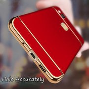 CAPAME Cover For Huawei Honor 8 Lite 9 P10 8 Lite Full Cover Hard Luxury Phone Cases For Huawei P9 Plus P8 2017 9 P10 Lite Case
