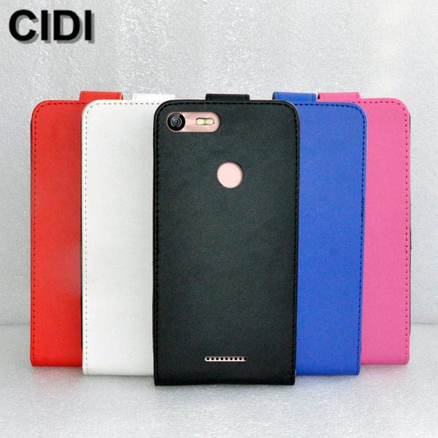 CIDI For BQ BQ-5204 Strike Selfie Case Cover PU Leather Flip Flap Up And Down Protective Phone Case For BQ 5204
