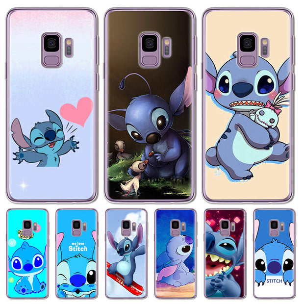 Phone Bags & Cases Cellphones & Telecommunications Cute Cartoon Stich Coque Shell Soft Silicone Tpu Phone Case For Samsung Galaxy S6 S7 Edge S8 S9 Plus Note 9 Note 8