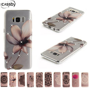 Case For Coque Samsung Galaxy S8 S8 Plus Case Transparent Clear Soft Silicone TPU Protector Case Cover For Samsung Galaxy S8