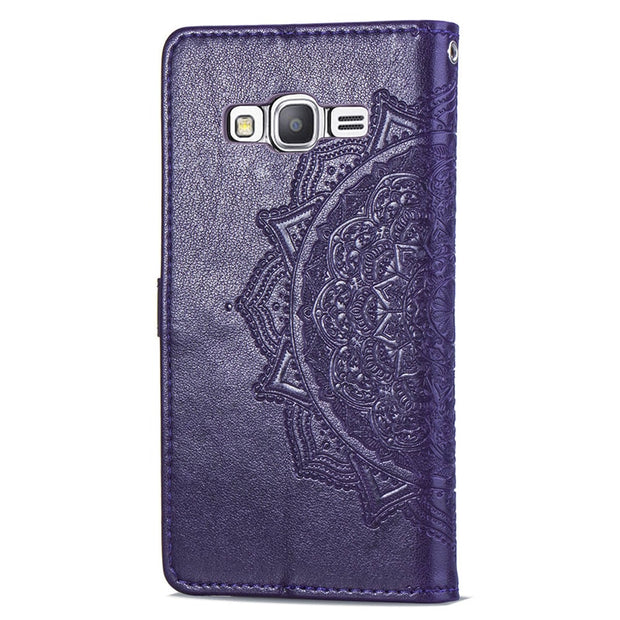 Case For Samsung Galaxy Grand Prime Leather Wallet Card Flip Magnet Soft Silicone Stand Case For Samsung G530F G530FZ Back Cover