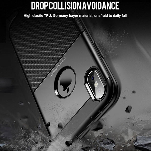Case For IPhone X 6 7 6s Case Shockproof 360 Protection Soft Silicon IPhonex Cover Coque For IPhone 6 6s 7 8 Plus X Case Luxury