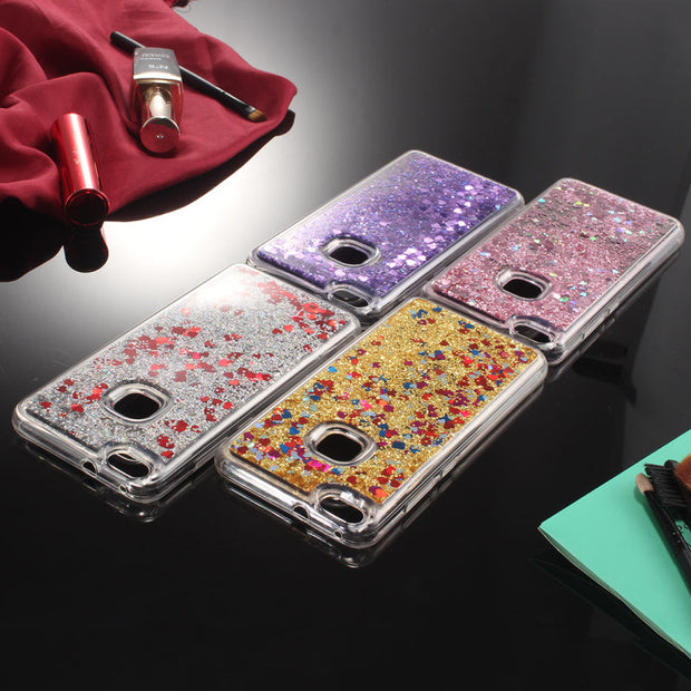 Cases Cover For Fundas Huawei P9 Lite 2017 Phone Case Silicon Soft TPU Clear Transparent Liquid Cases For Huawei P9 Lite 2017