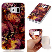 Colorfull Soft Case For Samsung S6 Silicone TPU Back Phone Cover Female For Samsung Galaxy S6 Coque Marble Capinha Etui