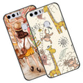 Cute Animal Silicone Case For Huawei Honor 8 Lite Soft Relief TPU Phone Cover Bag For Huawei P8 Lite 2017 Cases