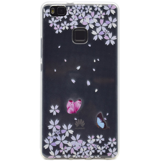 Cute Clear Case For Huawei P9 Lite Case Tpu Fashion Silicone Back Cover For Fundas Huawei Ascend P9 Lite G9 Lite 5.2 Inch Case