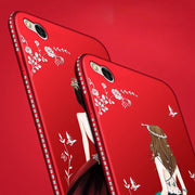 Diamond Cases For Redmi Note 3 5A 4 4X 4A 3S 5 Plus Luxury Girl Back Cover For Xiaomi Max 2 5X Glitter Phone Cases