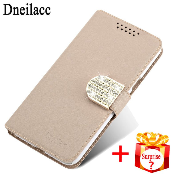 Dneilacc For Doogee Homtom HT7/Homtom HT7 PRO Flip Leather Phone Bag Case Card Slots + Stand Holster Cover Cases