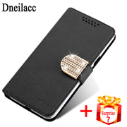 Dneilacc For LG K7 LG M1 LG Tribute 5 Case Flip Leather Case Hight Quality Stand Cover