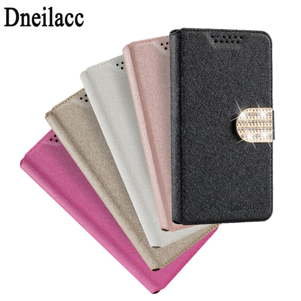 Dneilacc Luxury Case For Nokia 3 Flip Leather Back Cover Phone Bag For Nokia 3