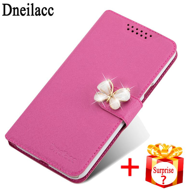 "Dneilacc Luxury Case For Samsung Galaxy C5 Pro C5010 2017 5.2"" Flip Leather Back Cover Phone Bag"
