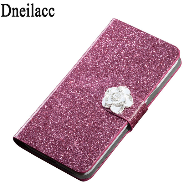 Dneilacc Luxury High Quality Leather Magnetic Auto Flip Wallet Stand Cell Phone Case For HTC U11 Plus Case Cover