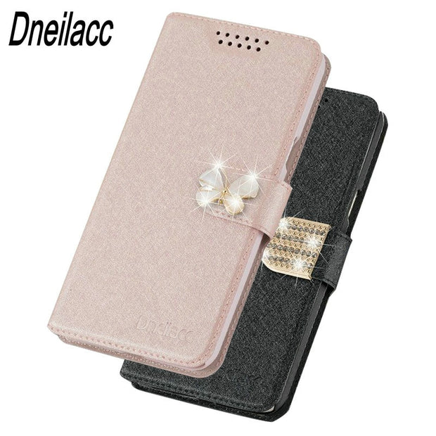 Dneilacc Original For Wiko Lenny 5 Lenny5 Case Flip Luxury Leather Stand Fundas Cover Cases For Wiko Lenny 5 Lenny5