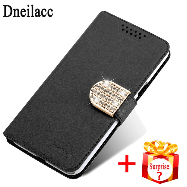 Dneilacc Original For ZTE Blade A 522 A522 Case Flip Luxury Leather Stand Fundas Cover Cases For ZTE Blade A 522 A522