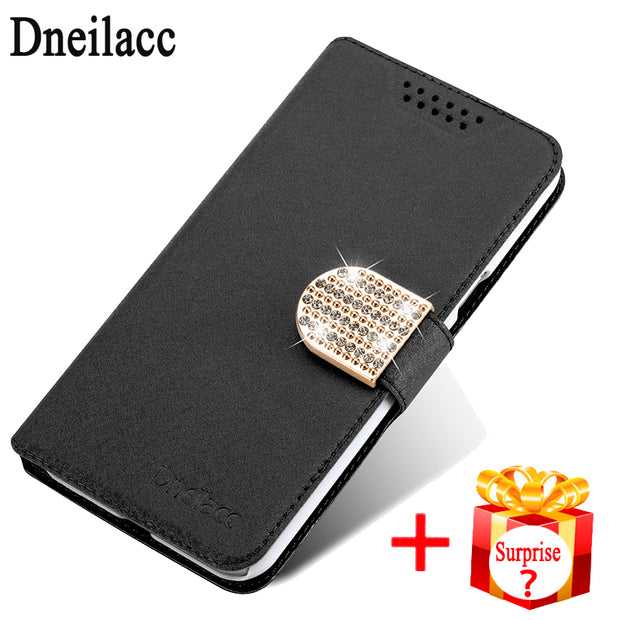 "Dneilacc Silk Leather Case For LG K8 Lte K350 K350E K350N 5.0"" K 8 Wallet Cover Cases With Card Holder Flip Coque"
