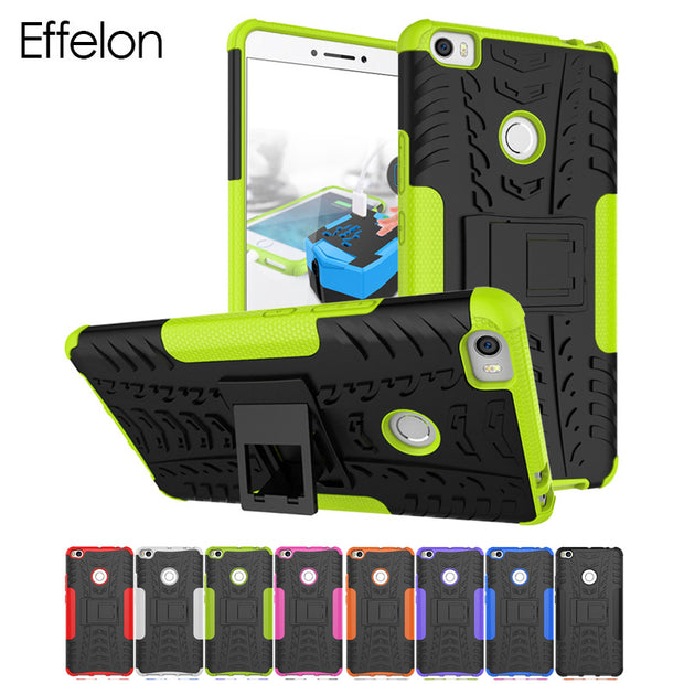 Effelon Cover For Case Xiaomi MI Max / Max2 Shockproof TPU + PC Strong Hybrid Cell Phone Cases Cover For Coque Xiaomi MI Max 2