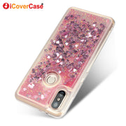 Fashion Bling Quicksand Coque For Xiaomi MI A2 Se Case Mobile Phone Accessories Glitter Liquid Shell Cover Capa Hoesjes For MIA2