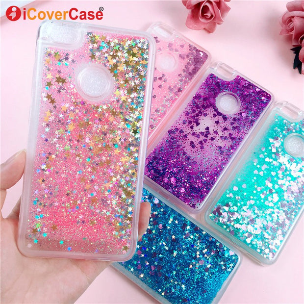 Fashion Glitter Liquid Quicksand Case For Xiaomi Redmi Note 5a 5 A Bling Coque Cover Mobile Phone Accessories Shell Capa Hoesjes