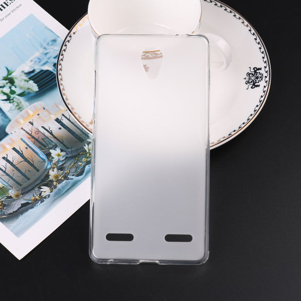 Fashion Matte Soft Silicone TPU Back Cover For ZTE A320 Funda Case Phone  Cases For ZTE Blade A320