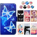 "Fashion PU Leather Flip Print Wallet Case For TP-Link Neffos X1 Max Case Cover Book Case 5.5"" Ultra-thin Phone Cover"