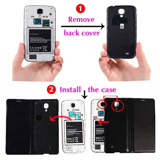Flip Cover Leather Case For Samsung Galaxy S3 Neo Duos S3 Mini S3mini S 3 GT I8190 I9300 I9301 I9301i I9300i GT-I9300 Phone Case