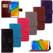 Flip Wallet PU Leather Cover Phone Case For Xiaomi Redmi 4 4 Pro 4A 4X 5 5A 5 6 6A Plus 6 Pro Redmi Note 4 4X 5 5 Pro 5A Case