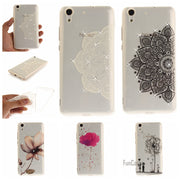 Flower Pattern Soft TPU + IMD Diamond Case For Huawei Ascend Y6 Ii Y5 Ii Violet Case For Huawei P8 Lite 2017 P9 Lite P10 Lite