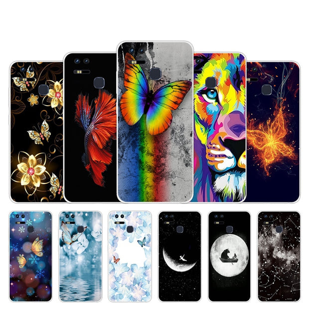 new arrival 7316e c9b84 For Asus Zenfone 3 Zoom ZE553KL Case Silicon Butter Design Cover For  ZenFone 3 ZE553KL Mobile Phone Bag For Zenfone3 Zoom