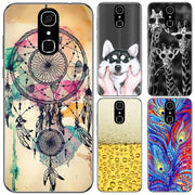For Cubot X18 Case Fundas Cover New Fashion Flower Animal Painting Soft TPU Full Back Cover For Cubot X18 Silicone Case 5.7""