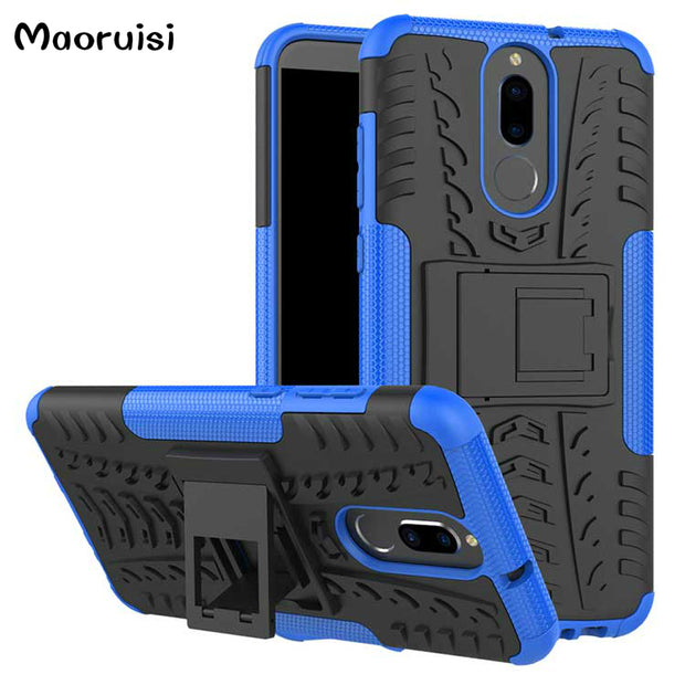 For Huawei Mate 10 Lite 5.9 Inch Dual Layer Armor For Honor 9i Bags TPU & PC Cases For Maimang 6 For Nova 2i For G10 Back Cover