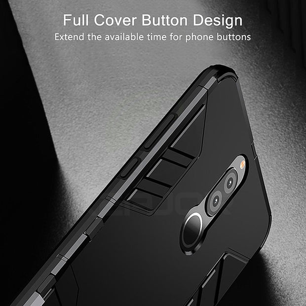 For Huawei Mate 10 Lite Case Nova 2i Cover Shockproof TPU+PC Hard Plastic Case With Stand Dual Hybrid Cover For Huawei Nova 2i