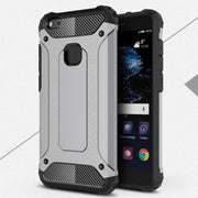 For Huawei P10 Lite Case Hybrid Durable Shield Armor Rugged TPU+PC Shockproof Back Cover For Huawei P10 Lite Phone Case 5.2""